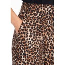 Leopard Palazzo Trousers - Leopard Print Brown - Alternative 2