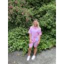 Tie Dye Shorts Set - Pink (431)