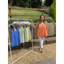 Daisy Swing Vest top - Orange - Alternative 1