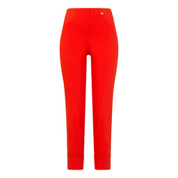 Robell Bella 09 Trousers in Tropicana Orange