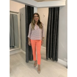 Fransa Fripgeo Top - Coral