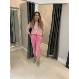 Lucy Cobb Magic Trousers (Clara Crinkle) in Pink (431)