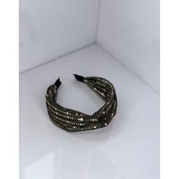 Lucy Cobb Accessories Sparkle headband  - Khaki