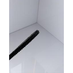 Malissa J Crystal Thin Headband  in Black (90)