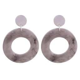 Lucy Cobb Jewellery Earrings 0786 - Grey