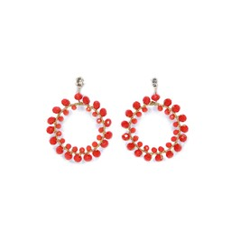 Lucy Cobb Jewellery Earrings 1066 - Coral