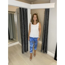 Lucy Cobb Camo Magic Joggers - Royal (67)