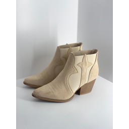 Lucy Cobb Shoes Sade Suede Ankle boots - Stone