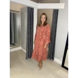 Lucy Cobb Tulum Maxi Dress - Terracotta