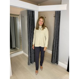 Lucy Cobb Janet Jumper in Stone