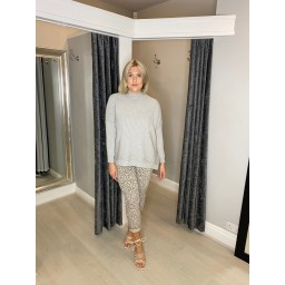 Lucy Cobb Janet Jumper in Silver