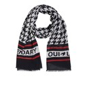 Feel Good Scarf - Black & White
