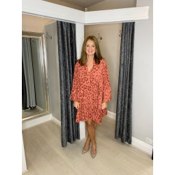 Lucy Cobb Tulum Tunic in Terracotta