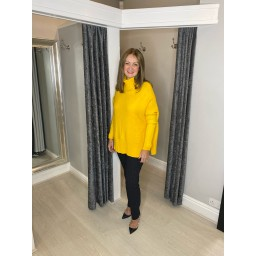 Lucy Cobb Janette Jumper in Yellow