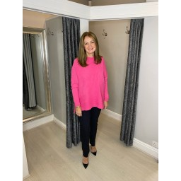 Lucy Cobb Janet Jumper in Fuchsia