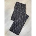 Marie Octagon Print Trousers - Mocha - Alternative 3