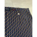 Marie Gold Geo Print Trousers - Navy (69) - Alternative 2