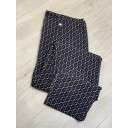 Marie Gold Geo Print Trousers - Navy (69) - Alternative 3