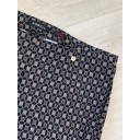 Marie Octagon Print Trousers - Mocha - Alternative 4