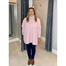 Lucy Cobb Claudia Jumper - Baby Pink