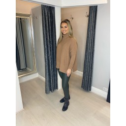 Lucy Cobb Janette Jumper in Camel