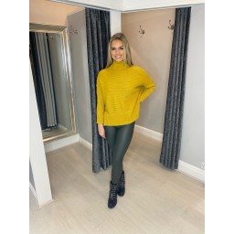Lucy Cobb Janette Jumper in Mustard