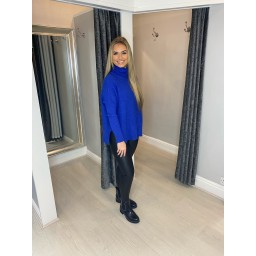 Lucy Cobb Janette Jumper in Royal