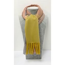 Lucy Cobb Accessories Codi Cashmere Scarf - Mustard Mix