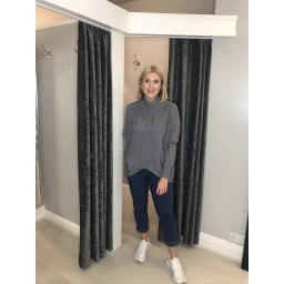 Lucy Cobb Jody Jumper in Grey