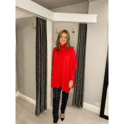 Lucy Cobb Claudia Jumper in Red