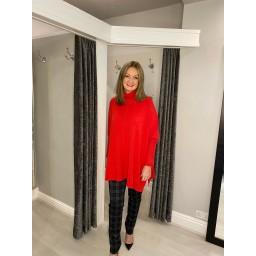 Lucy Cobb Claudia Jumper - Red