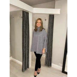 Lucy Cobb Claudia Jumper in Grey