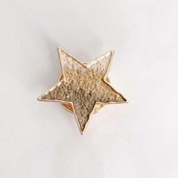 Lucy Cobb Jewellery Star Strong Magnetic Brooch - Champagne