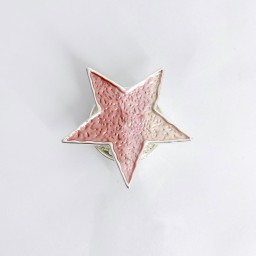 Lucy Cobb Jewellery Star Strong Magnetic Brooch - Pink (431)