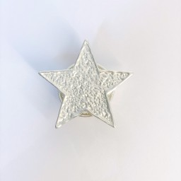 Lucy Cobb Jewellery Star Strong Magnetic Brooch - Silver