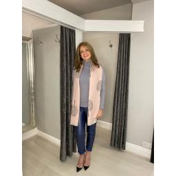 Lucy Cobb Petra Polo Neck in Grey
