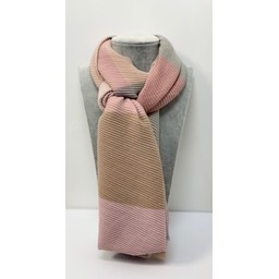 Lucy Cobb Accessories Ripley Check Scarf in Pink (431)