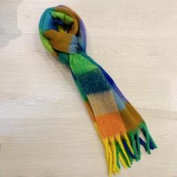 Lucy Cobb Accessories Juniper Check Scarf - Multicoloured