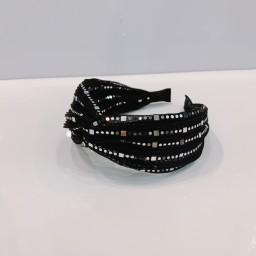 Lucy Cobb Accessories Sparkle headband  - Black
