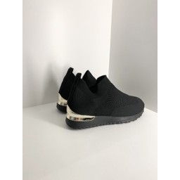 Lucy Cobb Footwear Sock Trainers in Black