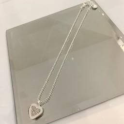 Lucy Cobb Jewellery Darcie Diamante Short Necklace - Silver
