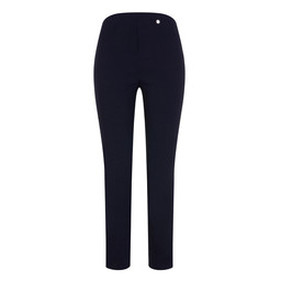 Robell Rose 09 Trousers in Navy