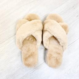 Lucy Cobb Footwear Paris Platform Slippers - Stone