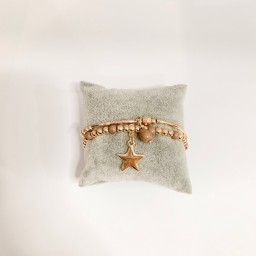 Lucy Cobb Jewellery Scorpio Star Bracelet - Rose Gold