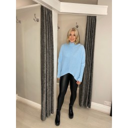 Lucy Cobb Jody Jumper in Turquoise
