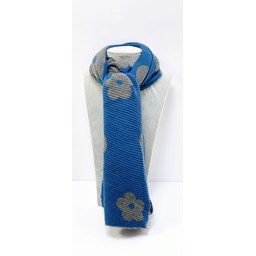 Lucy Cobb Accessories Poppy Crinkle Scarf - Cornflower Blue