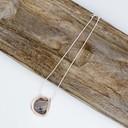 Pixie Pebble Short Necklace  - Silver