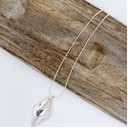 Rebecca Rhombus Short Necklace  - Silver