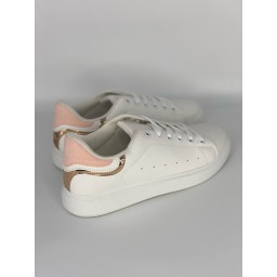 Lucy Cobb Footwear Alexis Trainers in Baby Pink