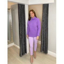 Lucy Cobb Jennie Jumper in Lilac